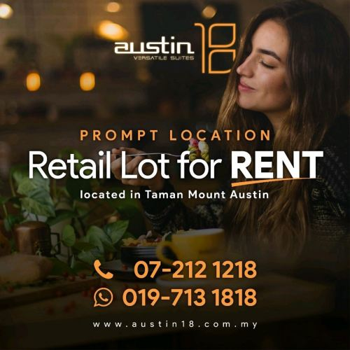 Retail Lot For Rent