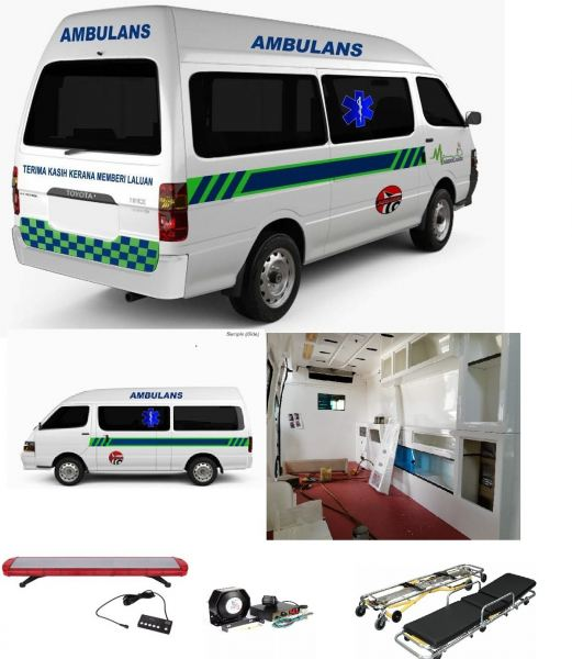 REBUILD YOUR AMBULANCE  Others Kuala Lumpur (KL), Malaysia, Selangor Supplier, Suppliers, Supply, Supplies | Mobile Life Automobil Sdn Bhd