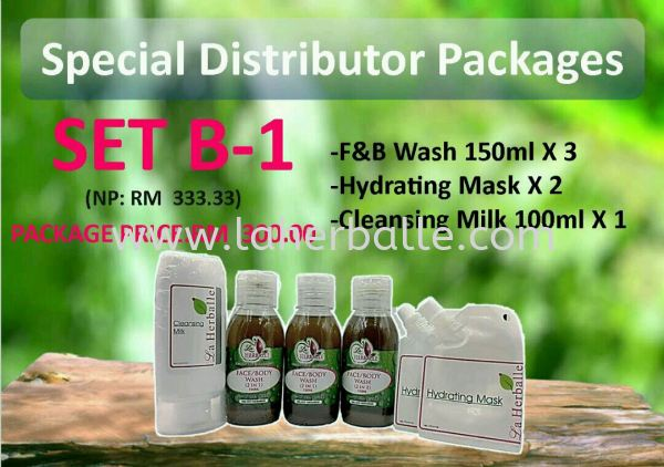 SET B-1 RM300 Special Distributor Kuala Lumpur (KL), Selangor, Penang, Malaysia Supplier, Suppliers, Supply, Supplies | La Herballe