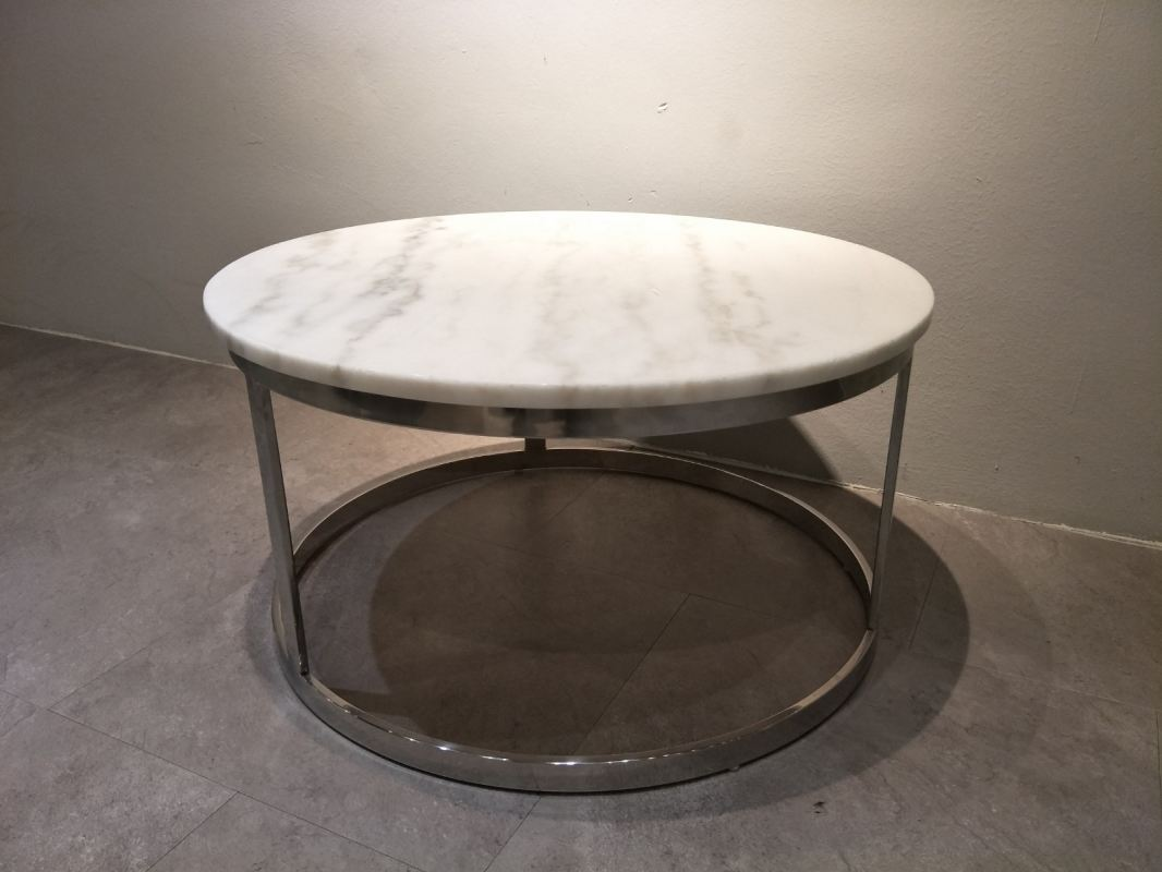Marble Coffee Table - White Marble