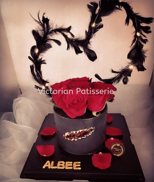 LED Light Red Rose Crystal Cake  Flower Theme cakes  Cake µ° ¸â Johor Bahru (JB), Malaysia, Bandar Uda Utama Supplier, Suppliers, Supply, Supplies | Victorian Patisserie