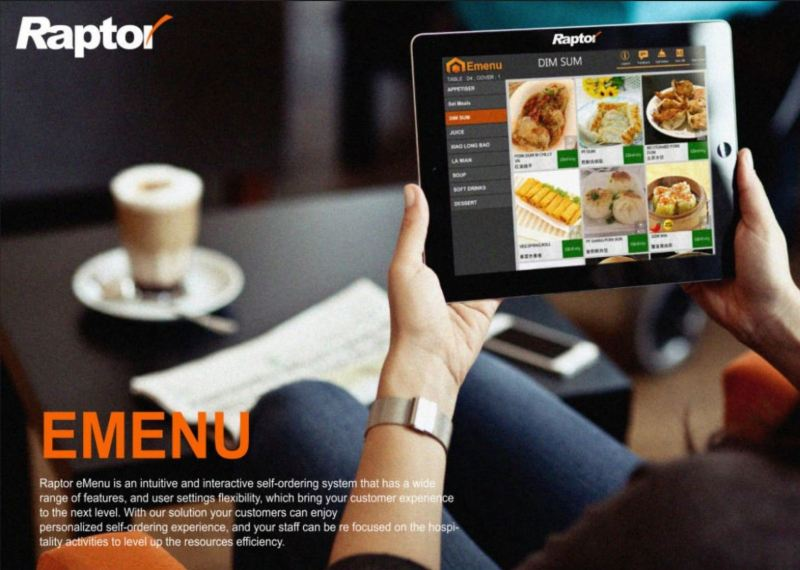 e-Menu Mobile Application POS SOFTWARE Puchong, Selangor, Malaysia Supply Suppliers Installation | CCI Solutions & Security Sdn Bhd