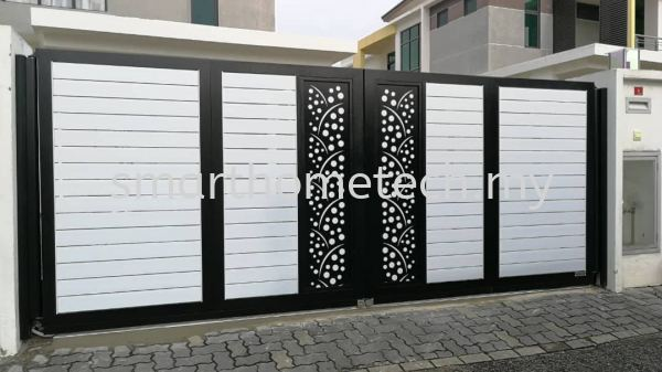 MY@Gate  Aluminium Gate Melaka, Malaysia Supplier, Supply, Supplies, Installation | SmartHome Technology Solution