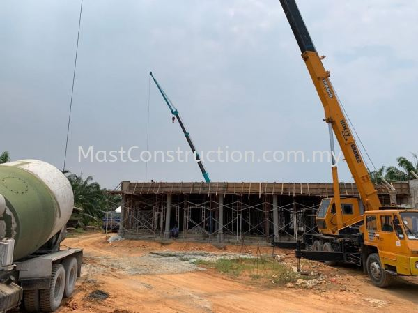 Bungalow structure work  Bungalow construction work Residential/Commercial Construction  Selangor, Puchong, Kuala Lumpur (KL), Malaysia Contractor, Service, Company   | Mast Construction