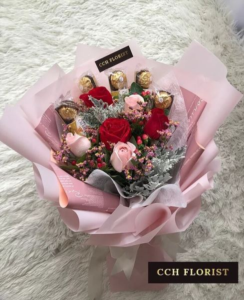 CHOCO DREAMZ CHOCOLATE BOUQUET BOUQUET Melaka, Malaysia Supplier, Suppliers, Supply, Supplies | Chung Choon Hwee Florist