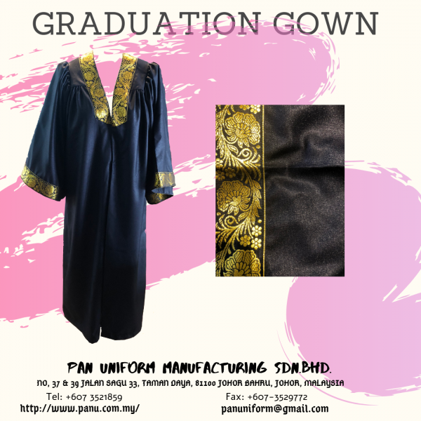 Graduation gown Others Johor Bahru JB Malaysia Uniforms Manufacturer, Design & Supplier | Pan Uniform Manufacturing Sdn Bhd