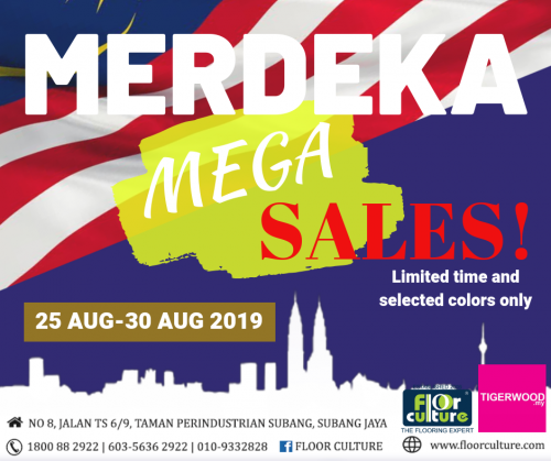 MERDEKA PROMOTION LIMITED TIME ONLY