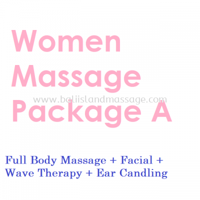 Women Massage Package A