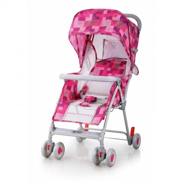 MYDEAR Stroller With Mosquito Net (Pink) - 18113