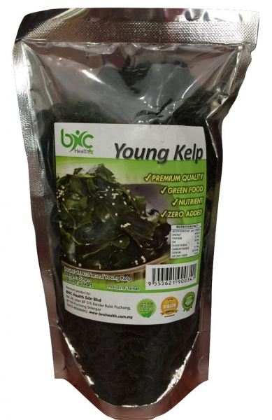 BNC - Young Kelp 今ァ竸 (50g / pack) Seaweeds & Dry Food Perak, Malaysia, Taiping Supplier, Suppliers, Supply, Supplies   BNC Health Sdn Bhd