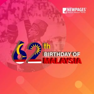 HAPPY BIRTHDAY MALAYSIA 62