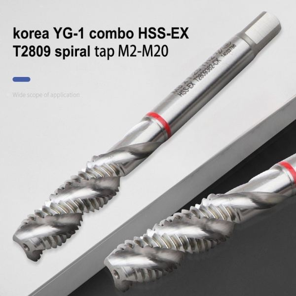 YG COMBO SPIRAL TAP YG COMBO SPIRAL TAP YG Tapping Selangor, Malaysia, Kuala Lumpur (KL), Puchong Supplier, Suppliers, Supply, Supplies | Quantum Tools Technology Sdn Bhd