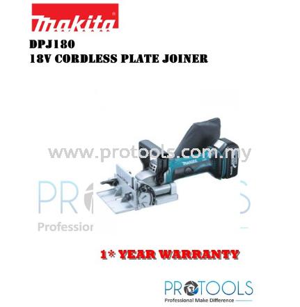 MAKITA DPJ180Z 18V CORDLESS PLATE JOINTER (BODY ONLY) - 1 YEAR WARRANTY PLANER CORDLESS POWER TOOLS Johor Bahru (JB), Malaysia, Senai Supplier, Suppliers, Supply, Supplies | Protools Hardware Sdn Bhd