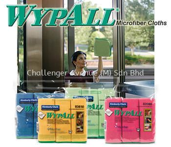 WYPALL* Microfibre Cloths with MICROBAN Antimicrobial Product Protection Wypall Kimberly-Clark Selangor, Malaysia, Kuala Lumpur (KL), Subang Jaya Supplier, Suppliers, Supply, Supplies   Challenger Avenue (M) Sdn Bhd