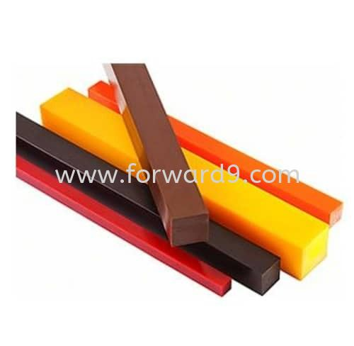 Polyurethane (PU) Square Bar Rods / Sheets Polyurethane ( PU )  Polymer ( PU / Rubber etc )  Johor Bahru (JB), Malaysia, Singapore, Mount Austin Supplier, Manufacturer, Supply, Supplies | Forward Solution Engineering Sdn Bhd