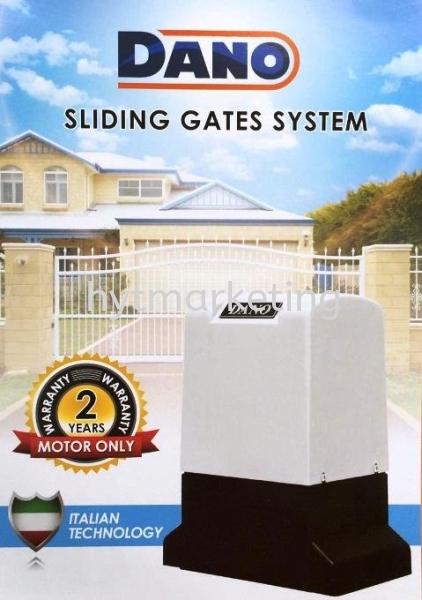 DANO 1.8 AC Sliding Autogate Auto Gate System Melaka, Batu Berendam, Malaysia Supplier, Supply, Supplies, Installation | HYT Marketing Sdn Bhd