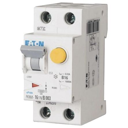 PKNM Series, Eaton Moeller Combined Residual Current Devices/Miniature Circuit Breaker Devices (RCBO) Fuses and Circuit Breakers Johor Bahru (JB), Malaysia Supplier, Suppliers, Supply, Supplies | HLME Engineering Sdn Bhd