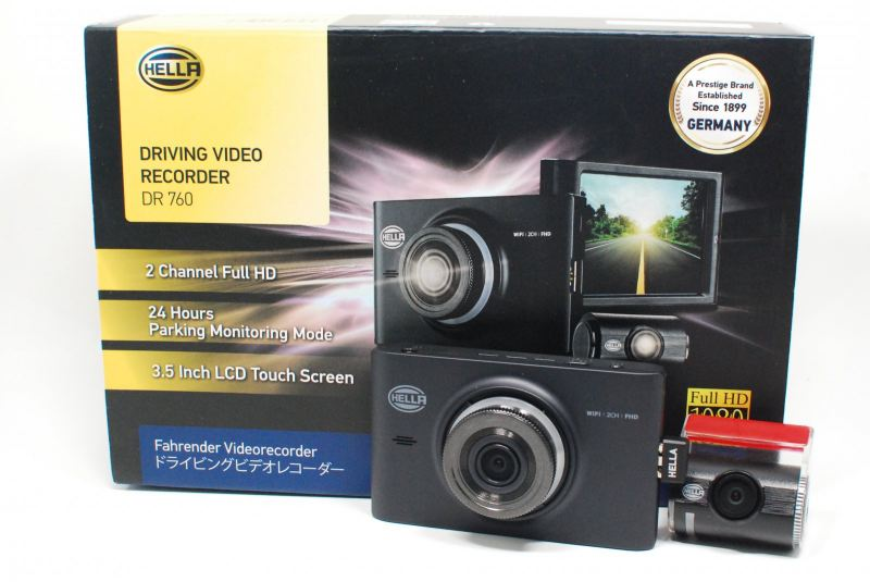 HELLA DR760 Hella Driving Video Recorder (DVR) Singapore, Toa Payoh Supplier, Supply, Wholesaler, Distributor | Fumitshu (S) Pte Ltd