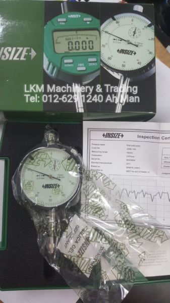 Dial Indicator Measuring Tools/Equipment Seremban, Negeri Sembilan (NS), Malaysia. Supplier, Suppliers, Supply, Supplies | LKM Machinery & Trading