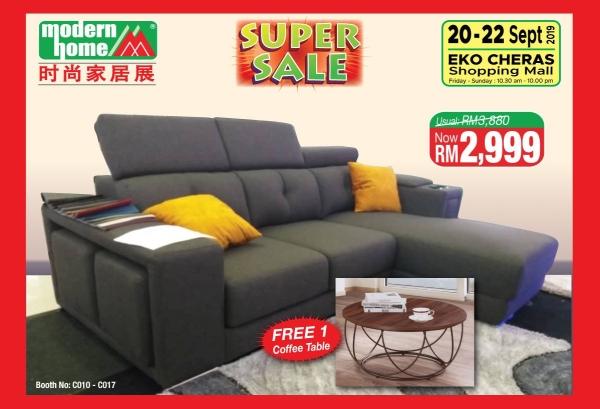 Modern Home Fair (45th Edition) Sofa Malaysia, Kuala Lumpur (KL), Selangor Exhibition, Fair, Expo | BW Cyans Events Sdn Bhd