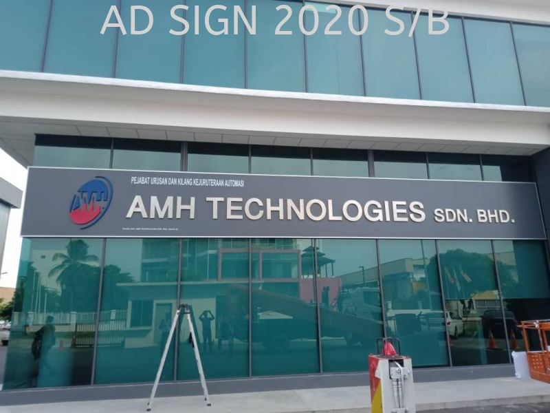 Stainless Steel 3D signage (outdoor) Company / Office Stainless Steel Signage Puchong, Seri Kembangan, Selangor, Kuala Lumpur (KL), Malaysia. Manufacturer, Supplier, Provider, One Stop | AD Sign 2020 Sdn Bhd