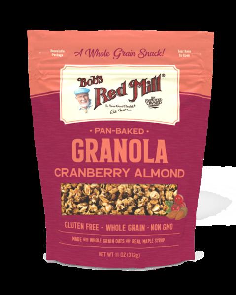 Pan-Baked Granola Cranberry Almond Oats, Cereal and Granola Bobs Red Mill Malaysia, Selangor, Kuala Lumpur (KL) Distributor, Wholesaler, Supplier, Supply | Ballun Distribution (M) Sdn Bhd