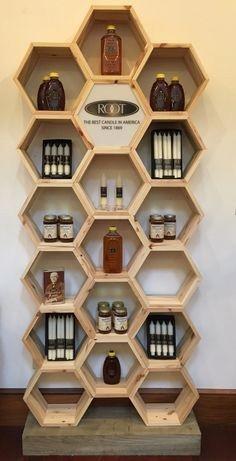 Honeycomb Shelve Display Shelve Malaysia, Negeri Sembilan, Seremban Supplier, Suppliers, Supply, Supplies | Samson Woodworks