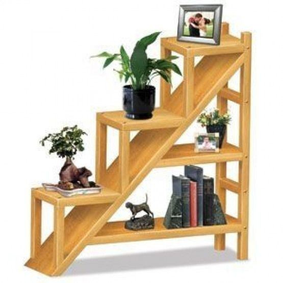Ladder Shelf Flower Pot Stand Malaysia, Negeri Sembilan, Seremban Supplier, Suppliers, Supply, Supplies | Samson Woodworks