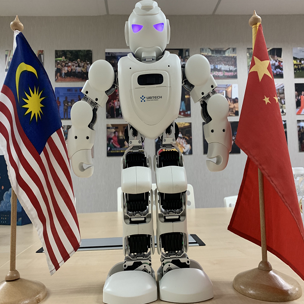 CRUZR Robot as MC at 2019 China Smart Industry Trade Exhibition this December 每 PUCM Others Malaysia News | SilkRoad Media