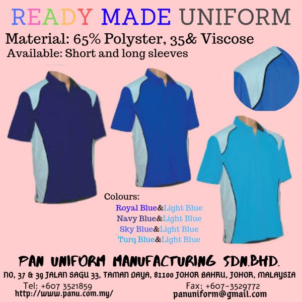 ready made Others Johor Bahru JB Malaysia Uniforms Manufacturer, Design & Supplier | Pan Uniform Manufacturing Sdn Bhd