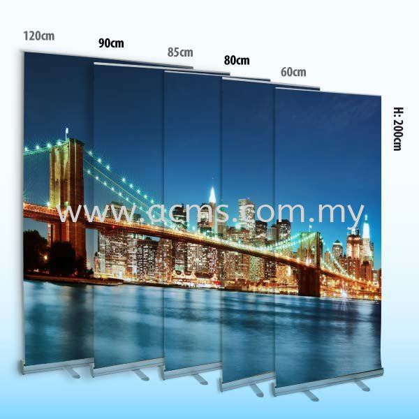 Aluminium Roll Up-R1200, R900, R850 & R600 ALUMINIUM ROLL UP ROLL UP STAND DISPLAY SYSTEM Selangor, Malaysia, Kuala Lumpur (KL), Sungai Buloh Supplier, Suppliers, Supply, Supplies | AC Marketing Solution Sdn Bhd
