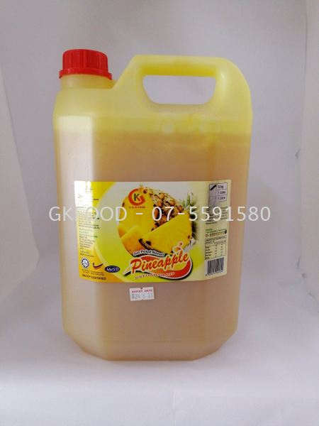 Pineapple Concentrated Fruit Juice Beverage Malaysia, Johor Bahru (JB) Supplier, Supply | G & K Food Sdn Bhd