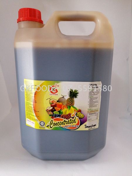Sourplum Concentrated Fruit Juice Beverage Malaysia, Johor Bahru (JB) Supplier, Supply | G & K Food Sdn Bhd