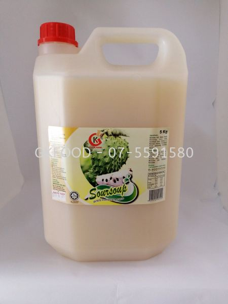 Soursop Concentrated Fruit Juice Beverage Malaysia, Johor Bahru (JB) Supplier, Supply | G & K Food Sdn Bhd
