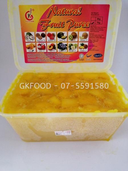 Mango Natural Fruit Puree Beverage Malaysia, Johor Bahru (JB) Supplier, Supply | G & K Food Sdn Bhd