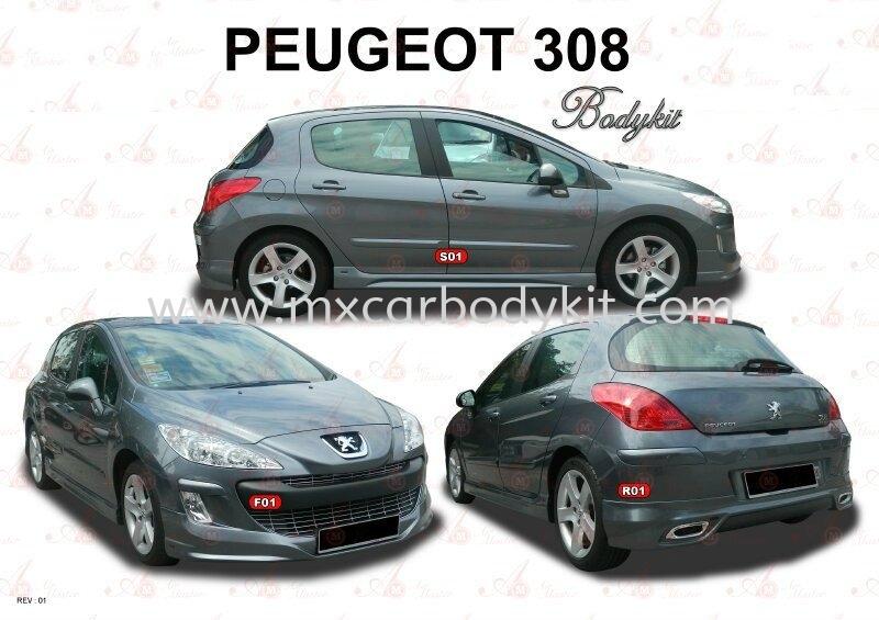 PEUGEOT 308 AM STYLE BODYKIT 308 PEUGEOUT Johor, Malaysia, Johor Bahru (JB), Masai. Supplier, Suppliers, Supply, Supplies | MX Car Body Kit