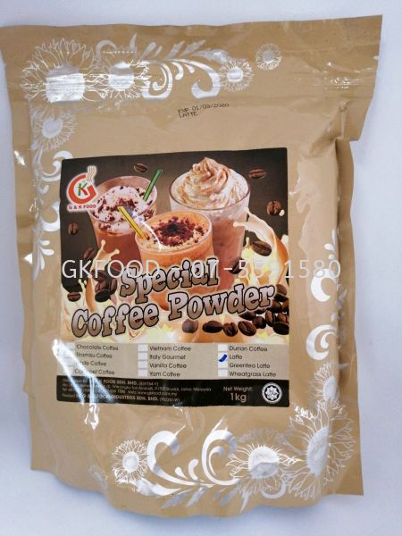Latte  Special Coffee Powder Beverage Malaysia, Johor Bahru (JB) Supplier, Supply | G & K Food Sdn Bhd
