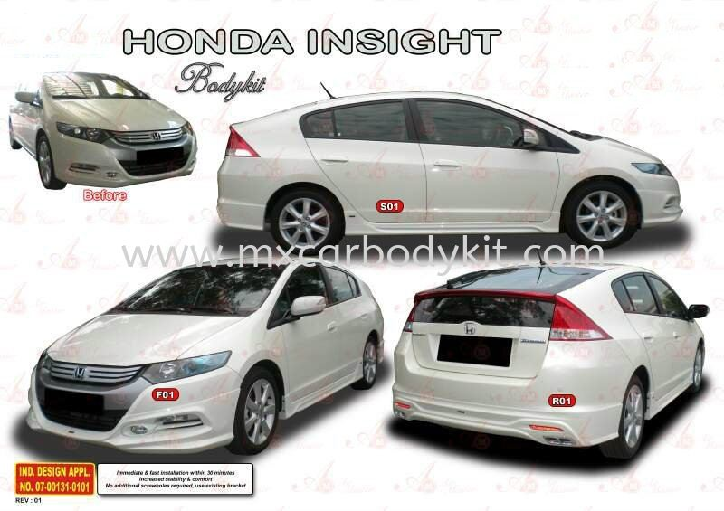 HONDA INSIGHT 2010 AM STYLE BODYKIT INSIGHT 2010 HONDA Johor, Malaysia, Johor Bahru (JB), Masai. Supplier, Suppliers, Supply, Supplies | MX Car Body Kit