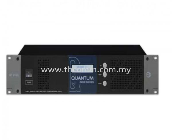 QP2125_2250_2375_2500  100V POWER AMPLIFIER Amperes Sound System Johor Bahru JB Malaysia Supply, Suppliers, Sales, Services, Installation | TH COMMUNICATIONS SDN.BHD.
