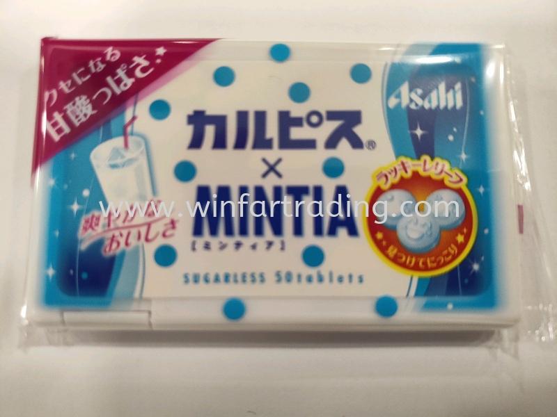 ASAHI MINTIA CALPIS 7 G Japan Snack Malaysia, Johor Bahru (JB), Masai Supplier, Supply   WIN FAR TRADING SDN BHD