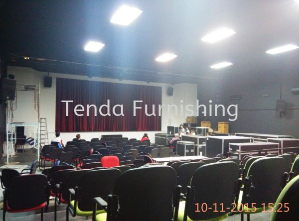 Stage Curtain Stage Curtain Kuala Lumpur (KL), Malaysia, Selangor, Damansara Supplier, Suppliers, Supply, Supplies | Tenda Furnishing Sdn Bhd