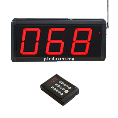 Call Number Machine Seven Segment Display  Penang, Malaysia, Perai Supplier, Suppliers, Supply, Supplies | J S Led (M) Sdn Bhd