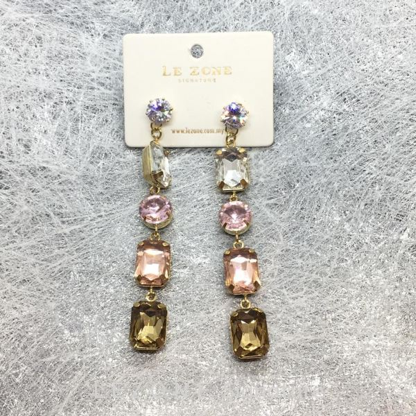 14K DESIGNER EARRINGS 14K 玫瑰金耳环【RM28】 14K 玫瑰金饰品   Supplier, Suppliers, Supply, Supplies | LE ZONE Signature