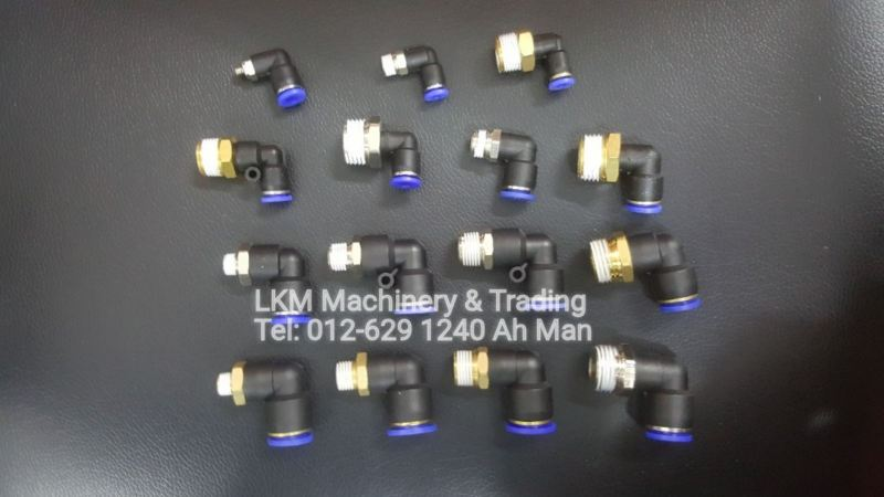 Elbow Connector  Pneumatic Fitting Seremban, Negeri Sembilan (NS), Malaysia. Supplier, Suppliers, Supply, Supplies | LKM Machinery & Trading