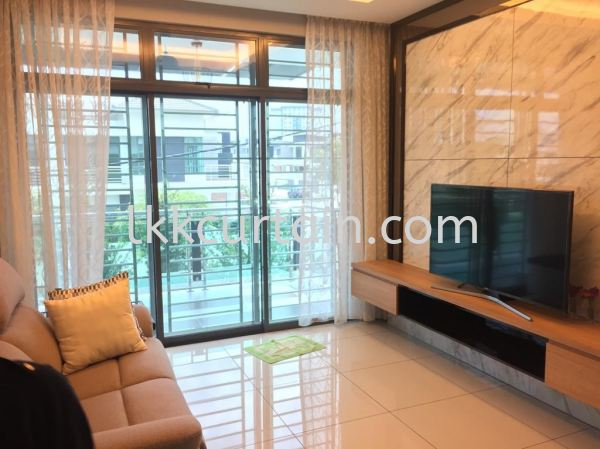 Curtain On Cornice Curtain Series Johor Bahru (JB), Malaysia, Kulai Supplier, Suppliers, Supply, Supplies | LKK Curtain