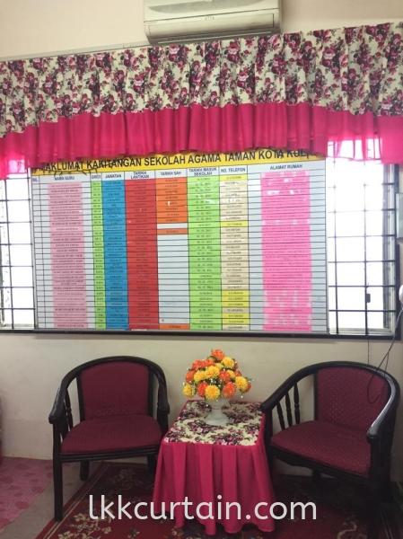 School Curtain Curtain Series Johor Bahru (JB), Malaysia, Kulai Supplier, Suppliers, Supply, Supplies | LKK Curtain