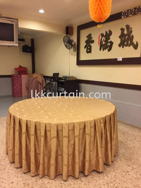 Table Cloth Table Cloth/Skirting Johor Bahru (JB), Malaysia, Kulai Supplier, Suppliers, Supply, Supplies | LKK Curtain