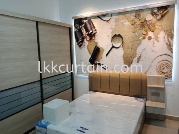 Printed Blinds Blinds Series Johor Bahru (JB), Malaysia, Kulai Supplier, Suppliers, Supply, Supplies | LKK Curtain