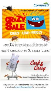 Promotion for Seclira SG - 23 Sept to 23 Oct 2019