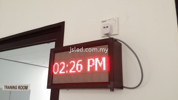 LED Display Red - Time Single Color LED Display Penang, Malaysia, Perai Supplier, Suppliers, Supply, Supplies | J S Led (M) Sdn Bhd